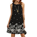 cheap Bracelets-Women's Basic A Line Dress - Polka Dot / Geometric Print
