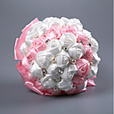 cheap Wedding Flowers-Wedding Flowers Bouquets Wedding / Wedding Party Bead / Foam / Satin 11-20 cm