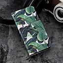 זול מגנים לטלפון & מגני מסך-מגן עבור Apple iPhone X / iPhone 8 Plus ארנק / מחזיק כרטיסים / עם מעמד כיסוי מלא עֵץ קשיח עור PU ל iPhone X / iPhone 8 Plus / iPhone 8
