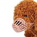 ieftine Esențiale Călătorie Căței-Câini / Pisici / Animale Mici Botnițe Antrenament Mată Plastice Roz