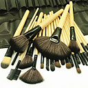 halpa Tekojalokivi&Koristeet-Makeup Harjat ammattilainen Brush Lavastus Keinoharjainen sivellin / Sivellin nylonista Ekologinen / Ammattilais / Pehmeä Puinen / bambu