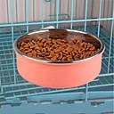 رخيصةأون لمبات LED-16,13 L كلاب / الأرانب / قطط الطاسات وزجاجات / مغذيات حيوانات أليفة السلطانيات والتغذية المحمول أخضر / أزرق / زهري