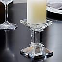 ieftine Ceasuri de Perete-Modern / Contemporan sticlă Suporturi Lumânări Candelabra 1 buc, Lumânare / Suport pentru lumânări