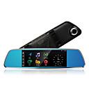 """tanie Pamięć flash USB-Anytek A918+ 1080p Nocna wizja / Podwójny obiektyw Rejestrator samochodowy 170 stopni Szeroki kąt 7 in IPS Dash Cam z GPS / Czujnik """"G / Wbudowany mikrofon Nie Rejestrator samochodowy"""