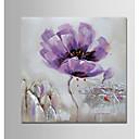 ieftine Picturi în Ulei-Hang-pictate pictură în ulei Pictat manual - Floral / Botanic Modern Fără a cadru interior / Canvas laminat