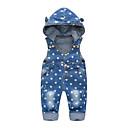 ieftine Pantaloni Băieți-Bebelus Băieți De Bază Imprimeu In Blugi Albastru piscină / Copil