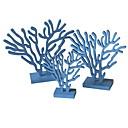 זול חפצים דקורטיביים-3pcs עץ ים- תיכוני ל קישוט הבית, קישוטים הביתה מתנות