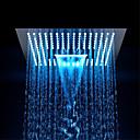 povoljno Ručni tuš-Suvremena Tuš s kišnim mlazom Chrome svojstvo - Eco-friendly / LED / Za tuširanje, Tuš Head