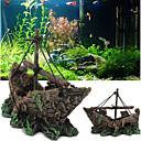 cheap Aquarium Décor & Gravel-Aquarium Decoration / Waterproof Background / Ornament Portable / Waterproof / washable Resin