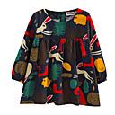 ieftine Seturi Îmbrăcăminte Fete-Copil Fete Curcubeu Manșon Lung Bluză