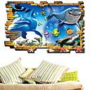 ieftine Acțibilde de Perete-Autocolante de Perete Decorative - Autocolante perete plane Animale Sufragerie / Dormitor