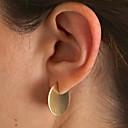 cheap Earrings-Women's Stud Earrings - S925 Sterling Silver Punk, European Gold / Silver For Daily Evening Party Date