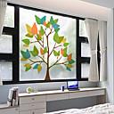 preiswerte Fensterfolie & Aufkleber-Fenster Film & Aufkleber Dekoration Matt / Moderne 3D-Druck PVC Fenster-Aufkleber / Matt