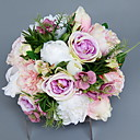 tanie Sztuczny kwiat-Sztuczne Kwiaty 1 Gałąź Pojedynczy Ślub Hortensje / Kalia liliowa Bukiety na stół