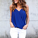 cheap Necklaces-Women's Street chic Blouse - Solid Colored
