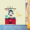 baratos Adesivos de Parede-Autocolantes de Parede Decorativos - Autocolantes de Aviões para Parede Personagens Sala de Estar / Quarto / Banheiro
