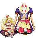 olcso Parti fejdíszek-Ihlette BanG Dream Szerepjáték Anime Szerepjáték jelmezek Cosplay ruhák Más Rövid ujjú Kabát / Szoknya / Masni Kompatibilitás Uniszex Mindszentek napi kösztümök