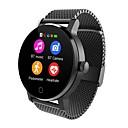abordables Relojes Inteligentes-Reloj elegante SMA09A para Android iOS Bluetooth Monitor de Pulso Cardiaco Pantalla Táctil Standby Largo Llamadas con Manos Libres Distancia de Monitoreo Podómetro Recordatorio de Llamadas