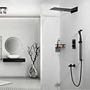זול ברזים למקלחת-ברז למקלחת - עכשווי מותקן על הקיר שסתום קרמי