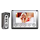 preiswerte Video-Türsprechanlage-MOUNTAINONE M801M11 7 Inch Video Door Phone Doorbell Intercom Mit Kabel / Kabel 7 Zoll Freisprechanlage 480*234*3 Pixel One to