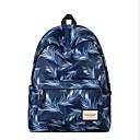 ieftine Intermediate School Bags-Pentru femei Genți Poliester Geantă Școală Pană / Blană / Fermoar Albastru piscină