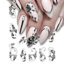 cheap Fishing Tools-5 pcs Stickers nail art Manicure Pedicure Colorful Nail Decals Daily Wear / Festival
