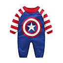 cheap Baby Boys' One-Piece-Baby Boys' Galaxy Long Sleeve Romper