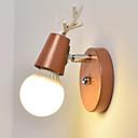 baratos Lâmpadas LED Inteligentes-Adorável Moderno / Contemporâneo Luminárias de parede Sala de Estar / Quarto de Estudo / Escritório Metal Luz de parede 110-120V / 220-240V 40 W