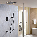 cheap Pendant Lights-Shower Faucet - Contemporary Painting Shower System Ceramic Valve