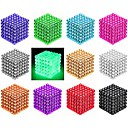 cheap Magnet Toys-216/512 pcs 3mm / 5mm Magnet Toy Magnetic Balls Building Blocks Puzzle Cube Magnet Neodymium Magnet Creative Magnetic intelligent Boys' Girls' Toy Gift