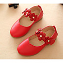 povoljno Cipele za djevojčice-Djevojčice Cipele PU Proljeće & Jesen Udobne cipele / Obuća za male djeveruše Ravne cipele za Obala / Crvena / Pink