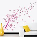 abordables Adhesivos de Pared-Calcomanías Decorativas de Pared - Pegatinas de pared de animales Animales Sala de estar / Dormitorio / Baño