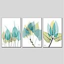 baratos Pinturas Pessoas-Pintura a Óleo Pintados à mão - Floral / Botânico Modern Tela de pintura