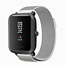 cheap Smartwatches-Watch Band for Huami Amazfit Bip Younth Watch Xiaomi Milanese Loop Stainless Steel Wrist Strap