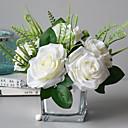 ieftine Flori Artificiale-Flori artificiale 1 ramură Clasic / Single Stilat Trandafiri Față de masă flori