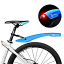 abordables Guardabarros de bicicletas-Defensas Bike Bicicleta de Montaña Ajustable / Luces LED / Retráctil Plásticos - 2 pcs Rojo / Verde / Azul