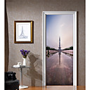 tanie Naklejki ścienne-Dekoracyjne naklejki ścienne / Naklejki na drzwi - Naklejki ścienne lotnicze / Świąteczne naklejki ścienne Religijne / 3D Salon / Sypialnia