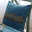 baratos Almofadas de Decoração-1 pçs Poliéster Cobertura de Almofada, Geométrica Padrão / Estilo Moderno