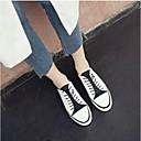 povoljno Ženske oksfordice-Žene Cipele Mekana koža Proljeće ljeto Udobne cipele Sneakers Ravna potpetica Okrugli Toe Obala