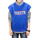 ieftine Top Băieți-Copii Băieți De Bază / Șic Stradă Sport Dungi / Imprimeu Imprimeu Manșon Lung Bumbac Set Îmbrăcăminte