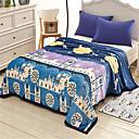 ieftine Pături-Lână Coral, Imprimeu pigment Geometric Flanel Lână pături
