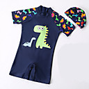 ieftine Costum de Baie Băieți-Copii Băieți Plajă Mată Costum Baie