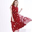 povoljno Cvijeće za vjenčanje-Žene Osnovni Korice Haljina Jednobojni Maxi