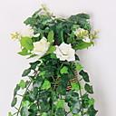 tanie Sztuczne kwiaty-Sztuczne Kwiaty 1 Gałąź Montaż naścienny Styl pasterski Róże kosz kwiatów
