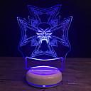 tanie Żarówki LED Kulki:-1 szt. 3D Nightlight USB Kreskówki / Nowy design / Kreatywne <5 V