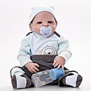 cheap Camp Kitchen-FeelWind Reborn Doll Baby Boy 22 inch Full Body Silicone - lifelike Hand Made Child Safe Parent-Child Interaction Hand Rooted Mohair Hand Applied Eyelashes Kid's Boys' / Girls' Toy Gift / Floppy Head