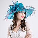 preiswerte Badarmaturen-Tüll Kopfbedeckung mit Kappe 1pc Hochzeit / Party / Abend Kopfschmuck