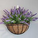 رخيصةأون زهور اصطناعية-زهور اصطناعية 4.0 فرع كلاسيكي زهري أزرق فاتح أزهار الحائط