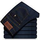 preiswerte Customized Uhren-Herrn Grundlegend Jeans Hose Solide