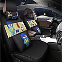 billige Syntetiske parykker uden hætte-ODEER Sædeovertræk til din bil Sædebetræk Sort / Grøn Tekstil Normal for Universel Alle år Alle Modeller
